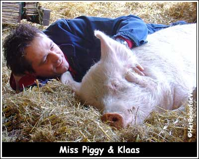 Miss Piggy & Klaas